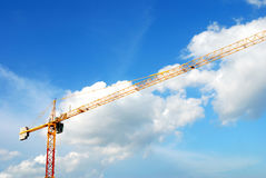 Construction crane Stock Photos