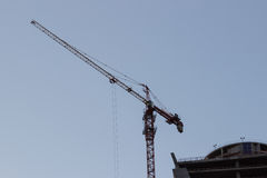 Construction,crane Stock Image