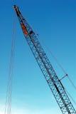 Construction crane. Heavy construction crane and blue sky Stock Photography