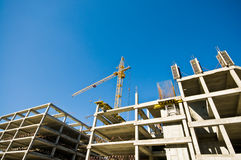 Construction crane Royalty Free Stock Images