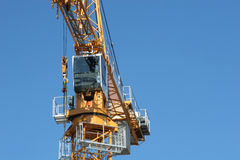 Construction_crane Stock Photography
