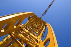Construction Crane Stock Photography