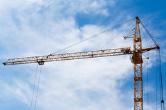 The construction crane Stock Photography