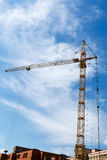 The construction crane Royalty Free Stock Images