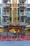 Construction crane base Stock Photos