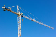 Construction crane. Stock Photo