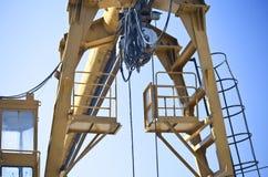 Construction Crane. Close-up of construction crane Stock Photos
