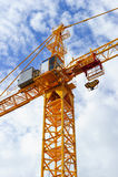 Construction crane detail Royalty Free Stock Image