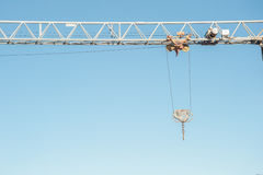 Construction crane Royalty Free Stock Image