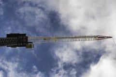 Construction crane. Gold Coast Australia Stock Images