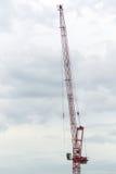 Construction crane hook Royalty Free Stock Image