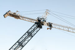 Construction crane Royalty Free Stock Photography