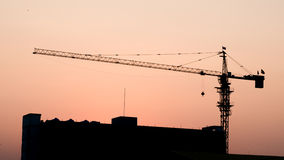 Construction and crane Stock Images