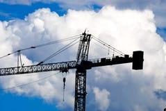 Construction crane Stock Photography