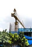 Construction crane Royalty Free Stock Image
