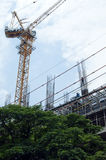 A construction crane Royalty Free Stock Image