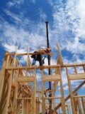Construction Crane - Vertical Stock Image