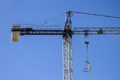 Construction crane Royalty Free Stock Photos