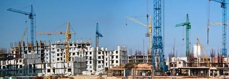 Construction cranes Stock Photography