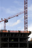 Construction, cranes, building  Stock Photos