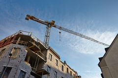 Construction Cranes Royalty Free Stock Images