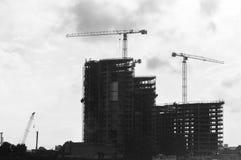 Construction Cranes (4) Stock Photos