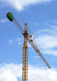 Construction cranes. Royalty Free Stock Images
