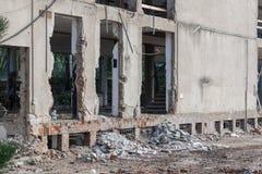 Construction démolie Photos stock