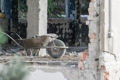 Construction démolie Photo stock