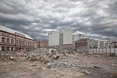 Construction démolie Image libre de droits