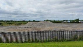 Construction démolie Image stock