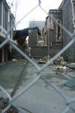 Construction détruite Photographie stock
