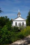 Construction d'église de campagne photos stock