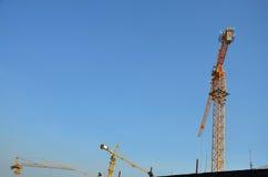 Construction d'affaires de bâtiment chez la Thaïlande Images libres de droits