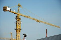 Construction d'affaires de bâtiment chez la Thaïlande Images stock