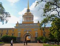 Construction d'Amirauté, St Petersbourg Photographie stock libre de droits