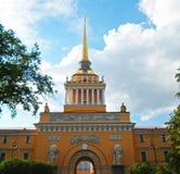 Construction d'Amirauté, St Petersbourg Images stock