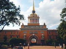 Construction d'Amirauté, St Petersbourg Photographie stock