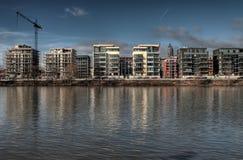 Construction d'appartement images libres de droits