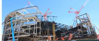 Construction d'arène Image stock