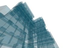 Construction d'architecture Photo stock