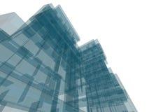 Construction d'architecture Photographie stock