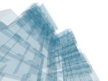 Construction d'architecture Image stock