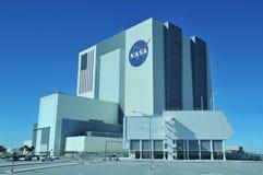 Construction d'Assemblée de véhicule de la NASA images libres de droits