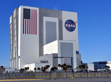 Construction d'Assemblée du véhicule de la NASA (VAB) Photographie stock