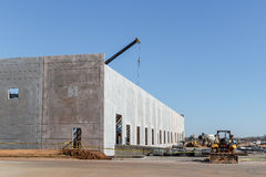 Construction d'entrepôt Photo stock