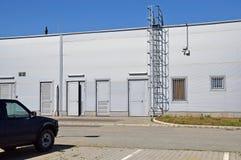 Construction d'entrepôt Photo libre de droits