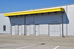 Construction d'entrepôt Photos stock
