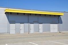 Construction d'entrepôt Image libre de droits