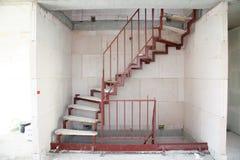 Construction d'escalier images libres de droits